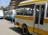 سائقو المنوفية يقطعون الطريق أمام مبنى المحافظة احتجاجا على إختفاء السولار