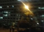 مجهولون يطلقون النار على مديرية أمن الإسماعيلية